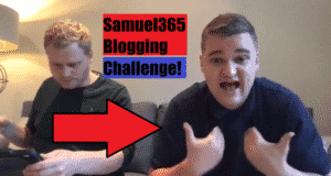 Samuel365 Blogging Challenge