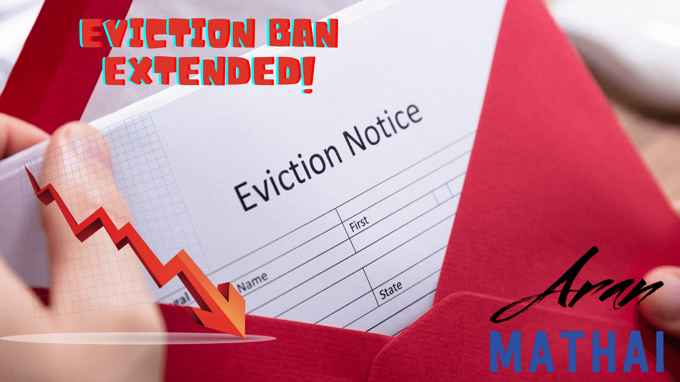 Eviction Ban Extended!